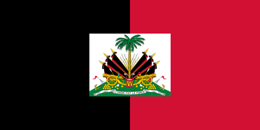 historical haitian flag, black and red flag, island, 1964 to 1986 under president francois duvalier, history of the haitian flag, flag of haiti, how has the haitian flag changed