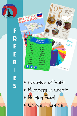 free lessons about haiti, teachers looking for ideas on haiti, teach diversity, multicultural activity worksheet, haitian, where is haiti, numbers in haitian creole, haitian food dishes, colors in haitian creole, free