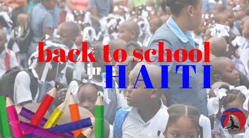 back to school on haiti, jacmel, what is school like in haiti, haitian, school, ecole, elementary school, middle school, high school, college, students, kids, backpack, new year, private school, ministry of education in haiti