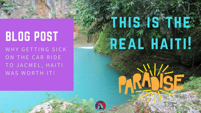 must-see destination in haiti, creole, kreyol, jacmel, bassin bleu, waterfall, natural spring, turquoise water, how to get to jacmel, best city in haiti, art town, fisherman's village