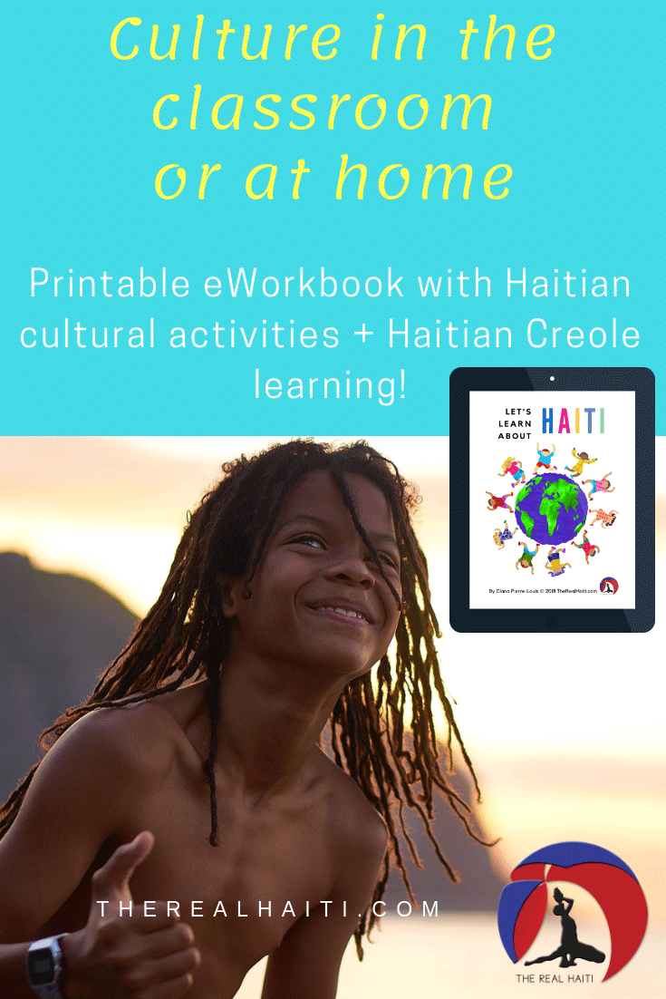 learn about haiti, teach about haiti, culture in the classroom, multicultural activity, diversity, kids with dreads, haiti, haitian, printable lessons, esol, esl, tesol, foreign language teacher, kids activity sheet, let's learn about haiti, the real haiti, digital download, printable